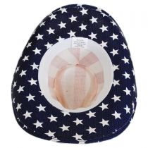 USA Flag Toyo Straw Western Hat alternate view 4