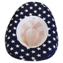 USA Flag Toyo Straw Western Hat alternate view 12