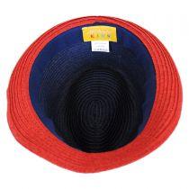 Kid's Freedom Toyo Straw Fedora Hat in