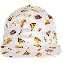Food Trucker Strapback Baseball Cap in