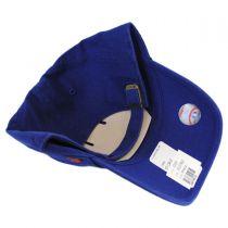 New York Mets MLB Clean Up Strapback Baseball Cap Dad Hat alternate view 2