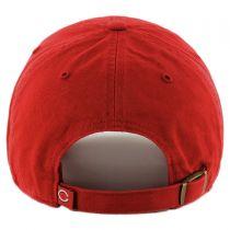 Cincinati Reds MLB Clean Up Strapback Baseball Cap Dad Hat alternate view 2