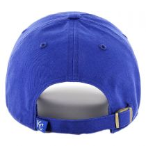 Kansas City Royals MLB Clean Up Strapback Baseball Cap Dad Hat alternate view 2