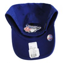 Toronto Blue Jays MLB Clean Up Strapback Baseball Cap Dad Hat alternate view 2