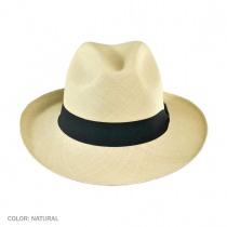 Brisa Grade 8 Panama Straw Fedora Hat