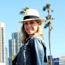 Panama Brisa Grade 8 Fedora Hat