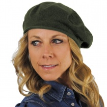 Cotton Beret - 10.5 inch Diameter in