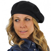 Cotton Beret - 11.5 inch Diameter in