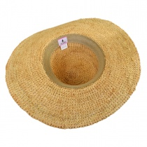 Crochet Raffia Straw Swinger Hat alternate view 5