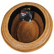 Be Bop Coconut Straw Pork Pie Hat in