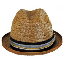 Coconut Straw Stingy Fedora Hat alternate view 2