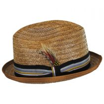Coconut Straw Stingy Fedora Hat alternate view 3