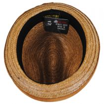 Coconut Straw Stingy Fedora Hat alternate view 12