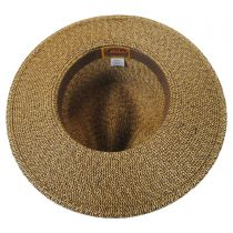 Toyo Straw Braid Fedora Hat in
