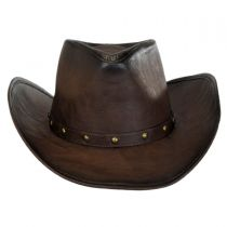 Faux Leather Western Hat alternate view 3