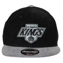 Los Angeles Kings NHL Chapparel Micro Strapback Baseball Cap Dad Hat alternate view 2