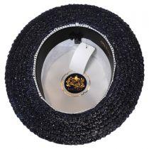Sennett Italian Skimmer with Solid Hat Band - Navy