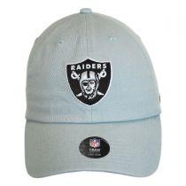 Oakland Raiders NFL Clean Up Strapback Baseball Cap Dad Hat alternate view 6