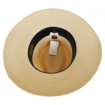 Range Hemp Straw Wide Brim Fedora Hat in