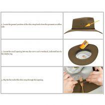 Akubra Hat Leather Chin Strap alternate view 2