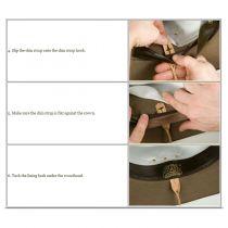 Akubra Hat Leather Chin Strap alternate view 3