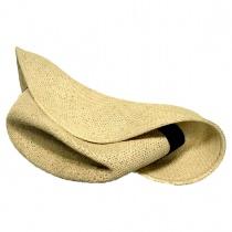Folding Panama Straw Fedora Hat alternate view 10