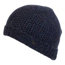 Cuff Knit Wool Beanie Hat in