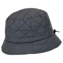 Quilted Rain Bucket Hat