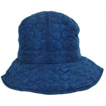 Quilted Polyester Rain Bucket Hat