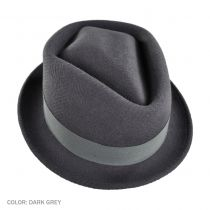 Diamond Tilth Fedora Hat