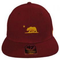 Mini Cali Bear Snapback Baseball Cap alternate view 2