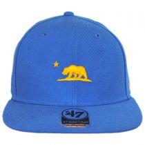 Mini Cali Bear Snapback Baseball Cap alternate view 6