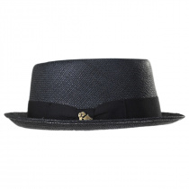 Grade 3 Panama Straw Pork Pie Hat alternate view 3
