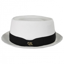 Grade 3 Panama Straw Pork Pie Hat alternate view 23