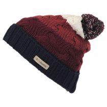 Carson Pass Pom Knit Beanie Hat in