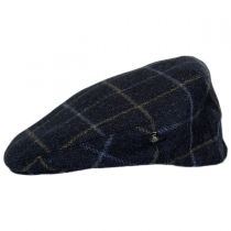 Cashmere and Wool Plaid Ivy Cap in
