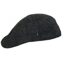 Harris Tweed Plaid Wool Duckbill Ivy Cap in