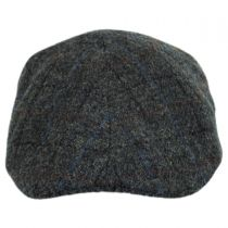 Harris Tweed Plaid Wool Duckbill Ivy Cap alternate view 2
