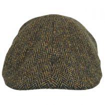 Donegal Tweed Herringbone Duckbill Ivy Cap in
