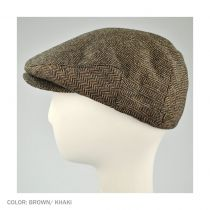 Hooligan Herringbone Wool Blend Ivy Cap in
