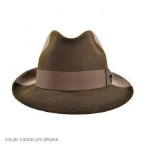 California Center Dent Fedora Hat