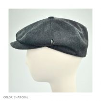 Loden Wool Newsboy Cap in