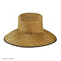 Palm Leaf Straw Lifeguard Hat alternate view 3