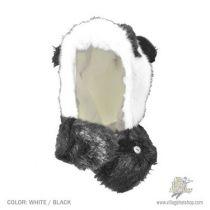 Panda Bear Hug Trapper Hat