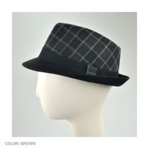 Manhattan C-Crown Fedora Hat