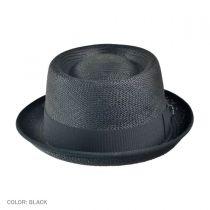 Grade 3 Panama Straw Pork Pie Hat alternate view 2