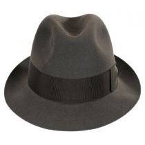 Tasso Fur Felt Stingy Brim Fedora Hat in