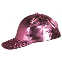 Metallic Stud Adjustable Baseball Cap alternate view 3