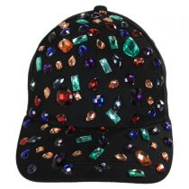 Rhinestone Adjustable Baseball Cap alternate view 6