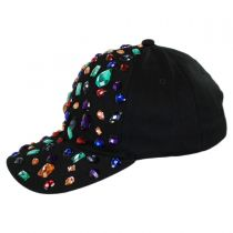Rhinestone Adjustable Baseball Cap alternate view 7